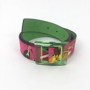 Kate Spade Floral Print Belt